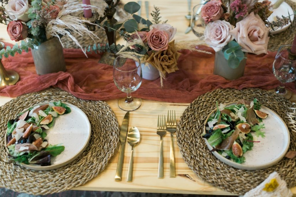 Macramé Boho Simply Sweet Photography salad plates