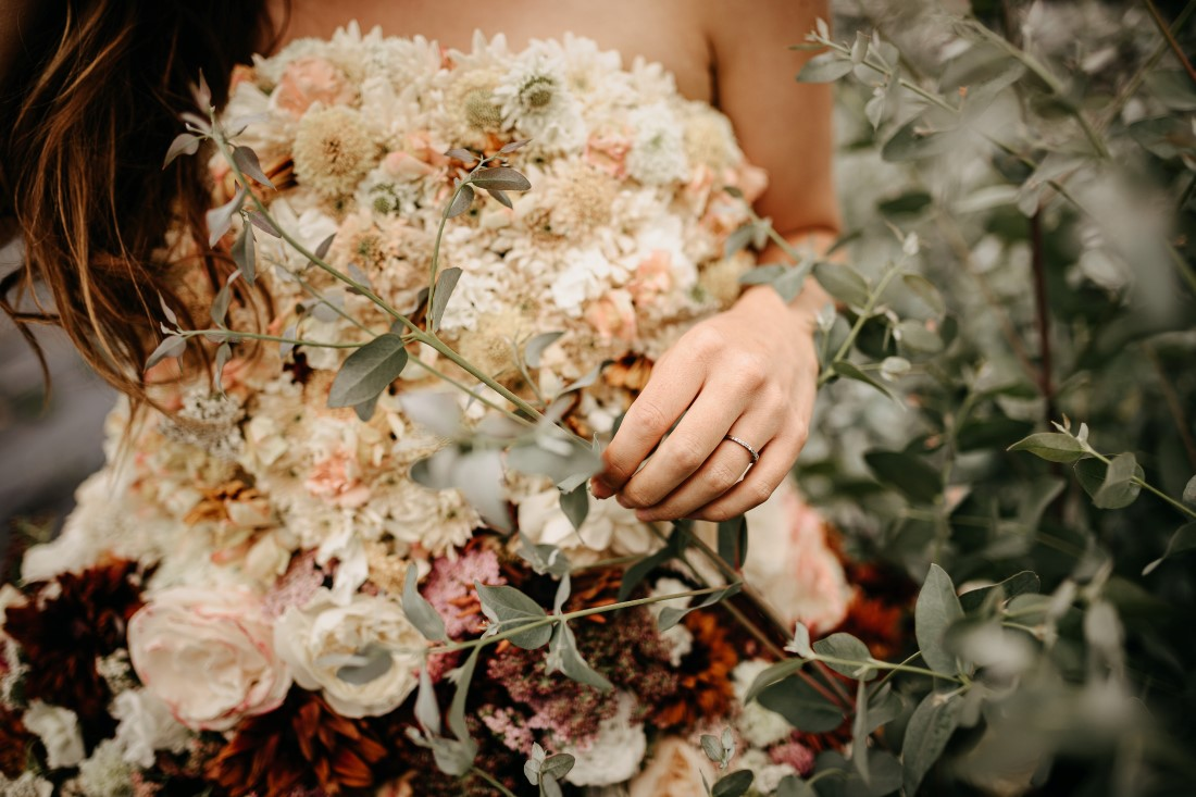 Flirty Floral Gown by Shantina Rae