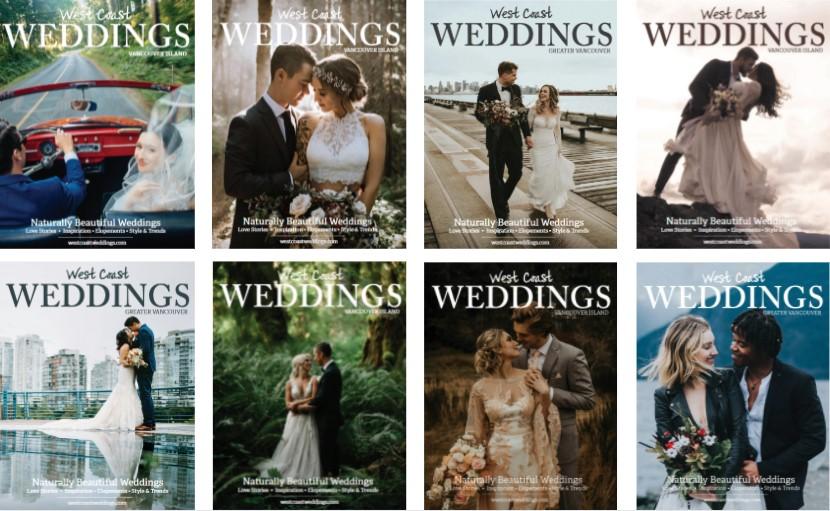 West Coast Weddings Magazines